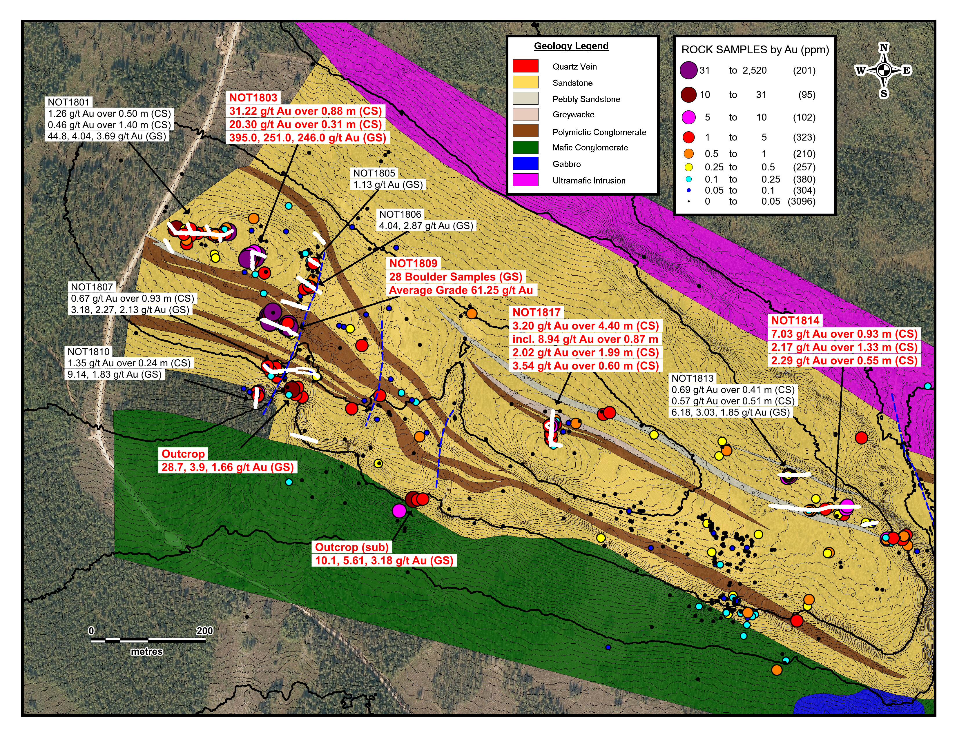 Aurion Discovers New Style of Gold Mineralization at Risti